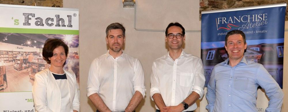 Franchise Soirée der Rechtsanwalts-Kanzlei Dr. Ollinger einschlagender Erfolg