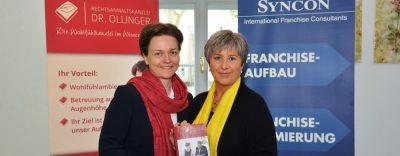 """Rechtsanwältin und Franchiserechts-Expertin Dr. Nina Ollinger präsentiert ihr neues Buch zum Thema """"Franchisevertrag"""""""
