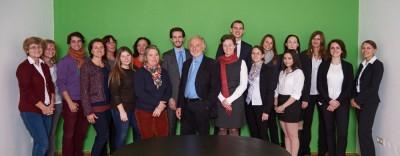 Erster gemeinsamer Team-Event im neuen Klosterneuburger Standort der Rechtsanwaltskanzlei Dr. Ollinger und der Steuerberatungskanzlei Sykora